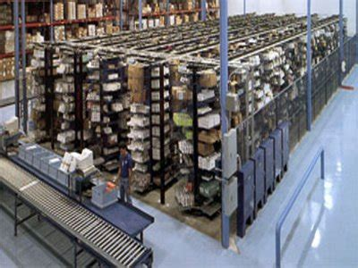 horizontal carousels storage goods  person material