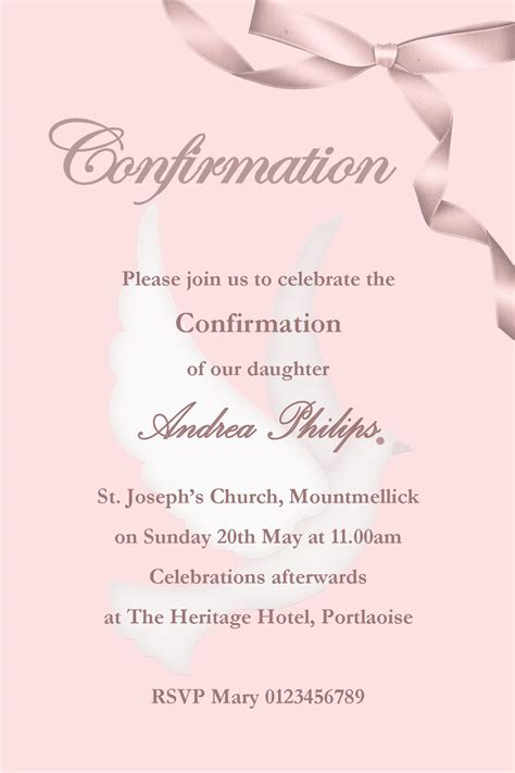 lutheran confirmation invitations