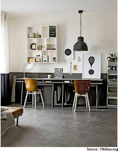 deco design bureau déco bureau gris