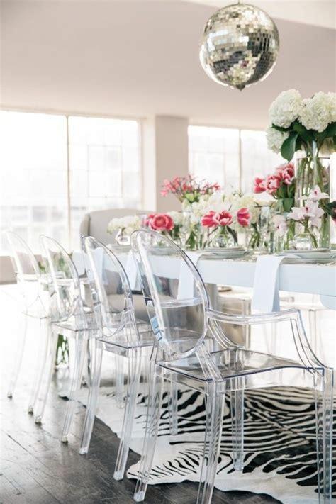 chaises en plexiglas pourquoi choisir la chaise design transparente