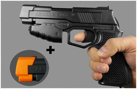 light gun for pc arcadeguns professional pc light guns for mame