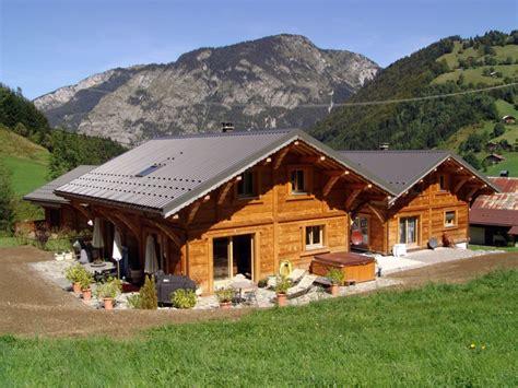 chalet en bois jura les chalets claudet constructeur de maisons et chalets bois
