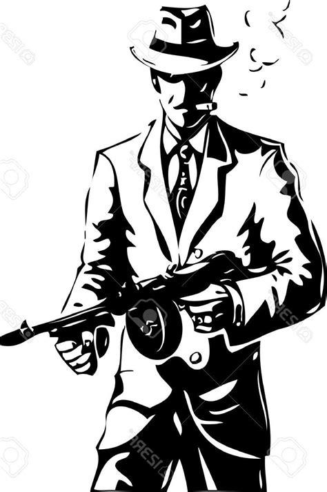 gangster drawing  getdrawingscom   personal