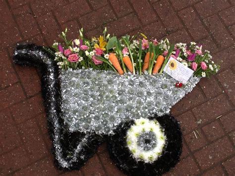 Wheelbarrow Funeral Tribute