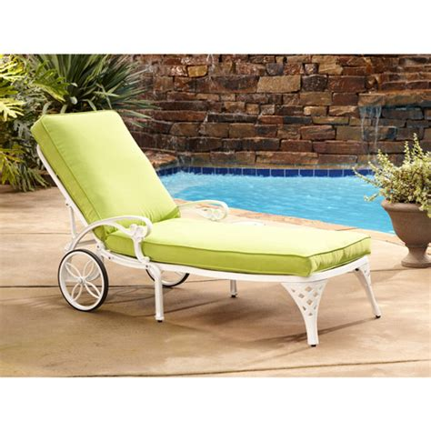 home styles biscayne outdoor chaise lounge chair with