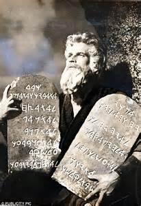 Moses Ten Commandments Movie