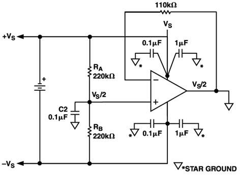 Avoiding Amp Instability Problems Single Supply