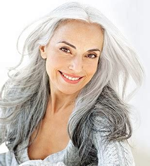 Mature Women Long Hairstyle With Layers Hair Styles For