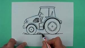 Wie Pflegt Man Einen Weihnachtsstern : wie zeichnet man einen traktor zeichnen f r kinder youtube ~ Lizthompson.info Haus und Dekorationen