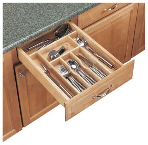 Revashelf  Revashelf 4wct1 Wood Cutlery Tray Insert