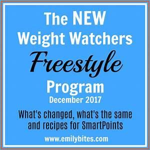 Weight Watchers Smartpoints Berechnen : new weight watchers freestyle program emily bites ~ Themetempest.com Abrechnung