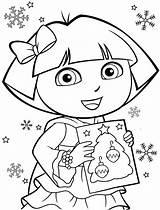 Dora Coloring Printable Explorer Pages Easter Getdrawings Print Getcolorings sketch template