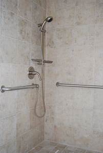 Brushed Nickel Bathroom Grab Bars With Kohler Also F