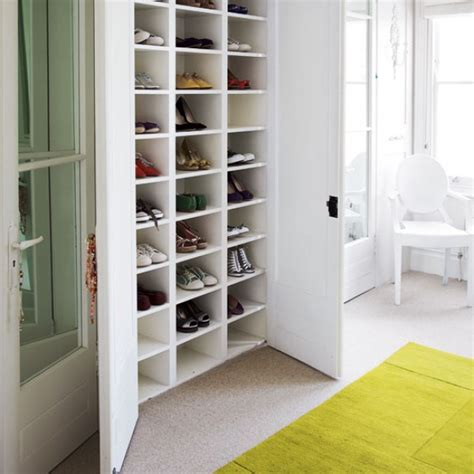 how to creatively add more shoe storage to your closet