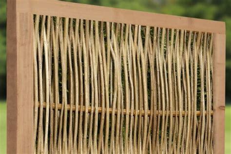 geflochtene gartenzäune weidenprofi gro 223 handel sichtschutz korbwaren