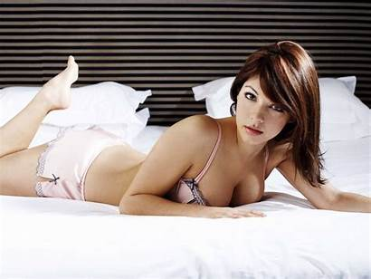 Wallpapers Babes Bed Lovely Lingerie Babe