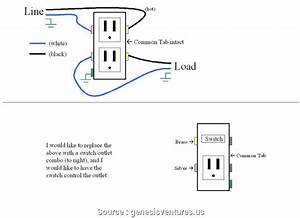 Wiring Diagram Combination Switch Outlet