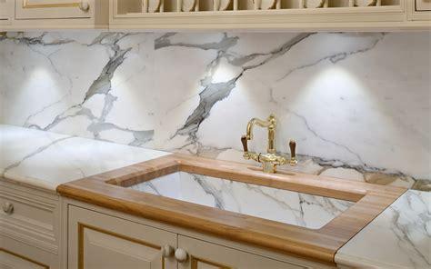 Bianco Statuario Kitchen Top   Margraf
