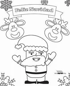 54 Dibujos De Navidad Tarjetas Papa Noel Y Arbolitos De Navidad Para Colorear Colorear Imgenes