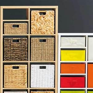 Panier Cube De Rangement : cube rangement osier le mariage ~ Teatrodelosmanantiales.com Idées de Décoration