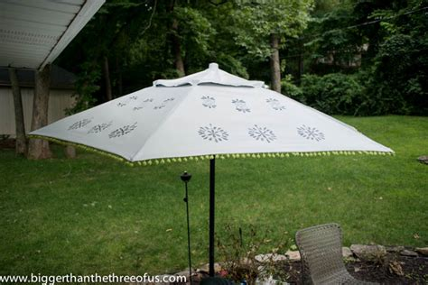 upcycle   patio umbrella   beautiful painted