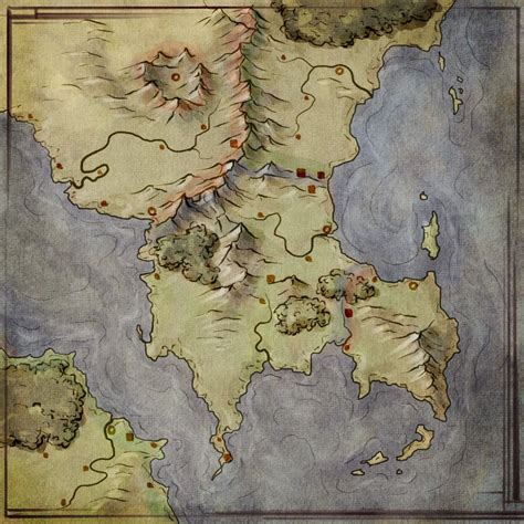 Worldbuilding By Map - Fantastic Maps | Fantasy map ...