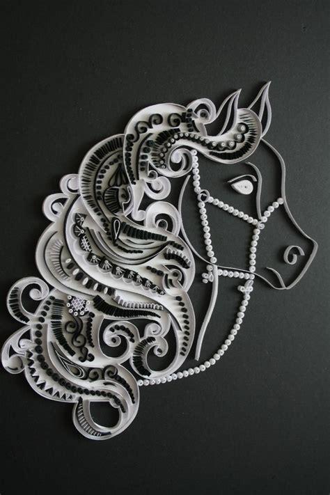 black  white horse cuteeee pinterest white horses