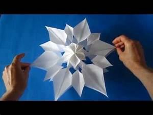 3d Sterne Aus Papier Basteln : 3d weihnachtsbaum selber basteln diy papier doovi ~ Lizthompson.info Haus und Dekorationen