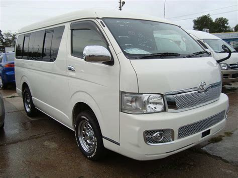 Toyota Hiace Photo by 2006 Toyota Hiace Photos 2 7 Gasoline Automatic For Sale