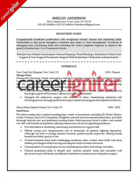 Rn Cv Sle by Resume Sle Resume Sle Resume Nursing