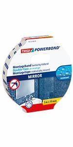 Tesa Powerbond Outdoor : tesa doppelseitiges montageband powerbond spiegel 5m x 19mm baumarkt ~ Frokenaadalensverden.com Haus und Dekorationen