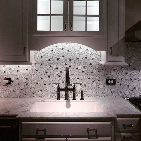 glazzio tiles cloud series set the tone in the kitchen with a light and fresh look