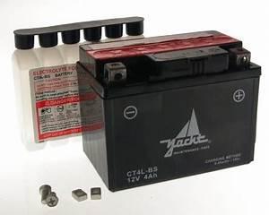 Speedfight 4 Batterie : starter batterie ct4l bs yb4l bs 12v 4ah roller quad ~ Jslefanu.com Haus und Dekorationen