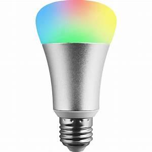 Smart Led Lampe : hank z wave plus rgb led lampe e27 smart home bei ~ Watch28wear.com Haus und Dekorationen