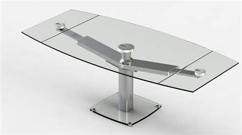 table de cuisine en verre avec rallonge étourdissant table de cuisine en verre avec rallonge avec