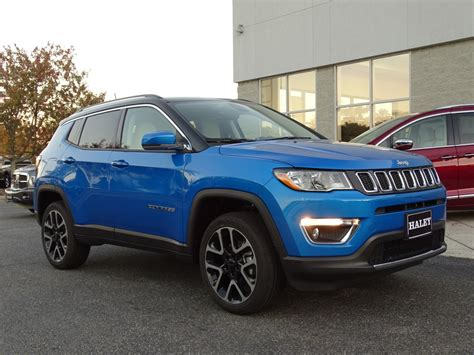New 2018 Jeep Compass Limited Sport Utility In Richmond