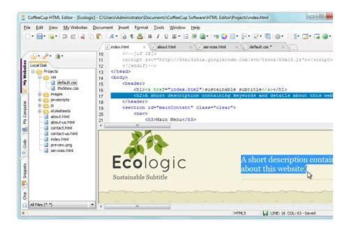 free online wysiwyg editor de html baixar windows