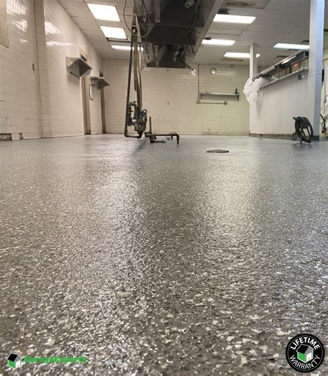commercial kitchen epoxy flooring  hayes virginia