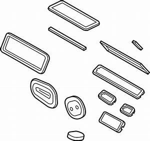 Lincoln Mkx Seal  Kit  Case  Unit  Hvac  Gasket Set  Ac