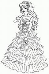 Princess Coloring Printable Sofia Resolution Barbie Bestcoloringpagesforkids sketch template