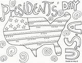 Coloring Presidents President Doodle Alley Lincoln Washington George Abraham Printable Preschool Usa Adult Learn Worksheets Prints Getdrawings sketch template