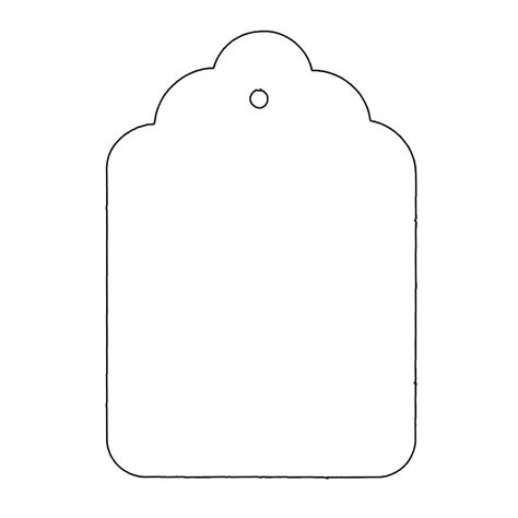 Tag Template Tag Shape Template Use These Templates Or Make Your Own