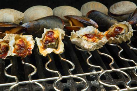 steven raichlen stainless steel seafood shellfish grill rack cutlery