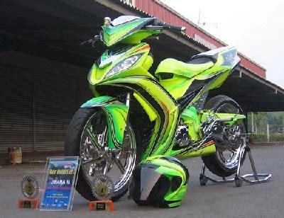 Model Modivikasi Mtor Gren by Gambar Modifikasi Yamaha Jupiter Mx Racing Style 2011