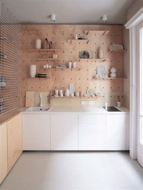 kitchen storage wall 27 smart kitchen wall storage ideas shelterness 3199