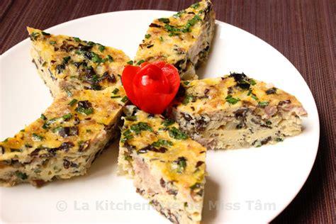 cuisine à la vapeur recettes omelette vietnamienne à la vapeur chả trứng thịt la