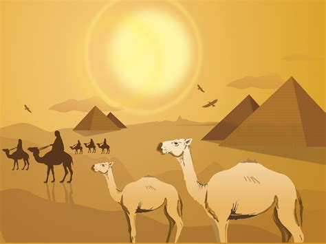 Egypt Templates Powerpoint by Egyptian Pyramids Powerpoint Templates Animals