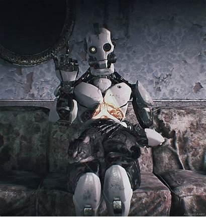 Robot Robots Characters Steampunk Alphagravy Horror