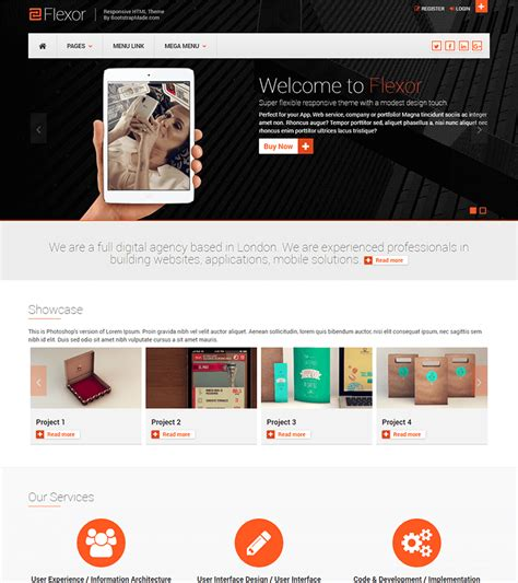 Free Bootstrap Website Templates by 30 Free Bootstrap Html Templates Templatemag