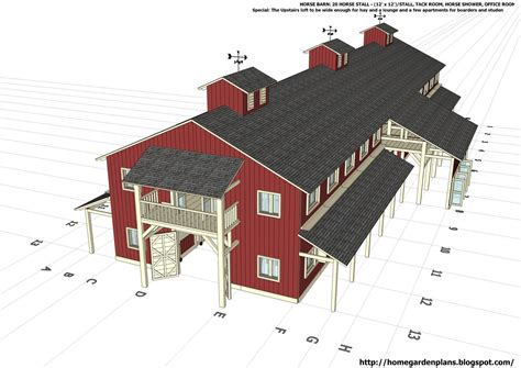 horse barn plans   build diy